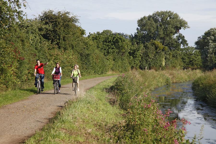 Radfahren am Gevattersee