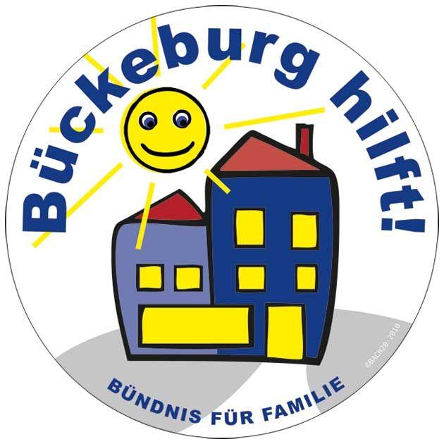 """Button """"Bückeburg hilft"""""""