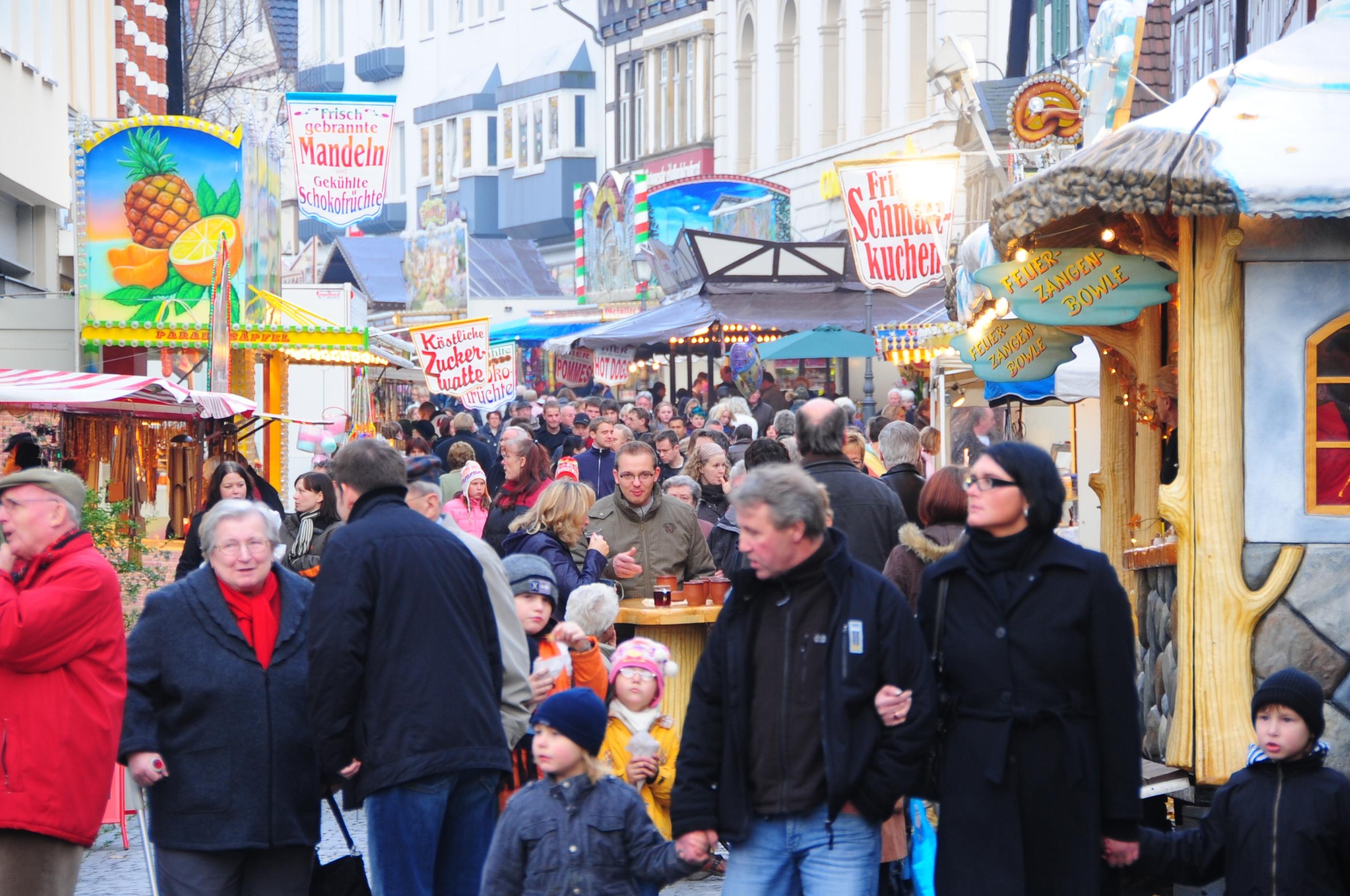 Herbstmarkt - Fussgängerzone