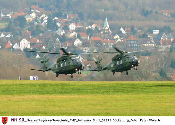 Hubschrauber NH 90