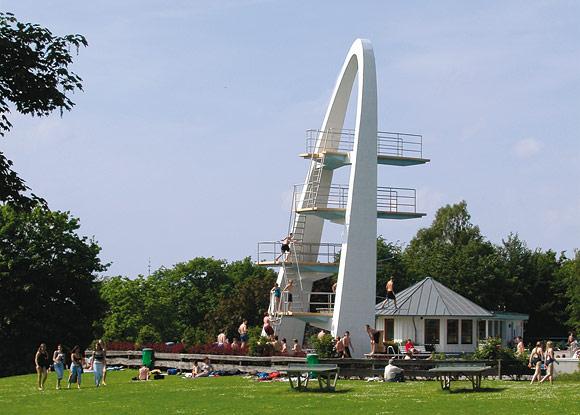 Turmanlage des Freibades