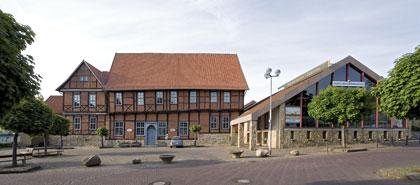 Hubschraubermuseum Außenansicht