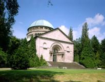 The Mausoleum in the castle garden