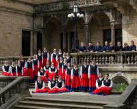 Konzertchor vor dem Palais in Bückeburg