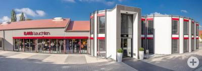Panorama-Bild unseres Gebäudes