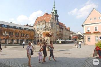 Rathaus auf dem historischen Marktplatz