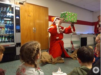Weihnachtsmann Feuerwehr 2