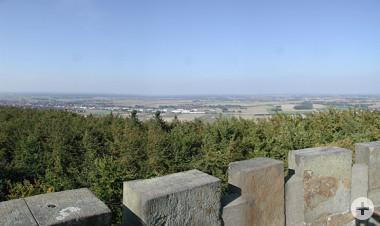 Aussicht vom Idaturm