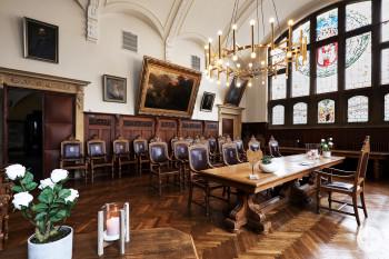 Historischer Rathaussaal in Bückeburg