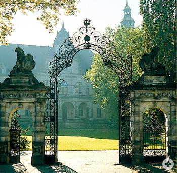 Blick auf das Palais